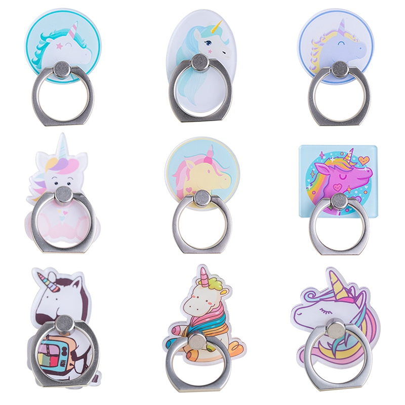 Uvr Mobile Phone Stand Holder Unicorn Wing Finger Ring Mobile Smartphone Holder Stand For Iphone Xiaomi Huawei All Phone Mobile Phone Accessories Cellphones & Telecommunications