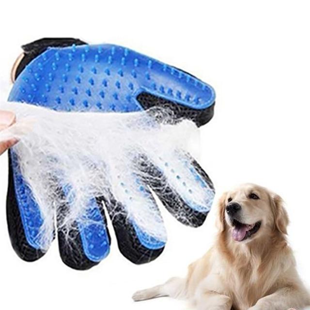 Силиконовые Собака Уход за лошадьми перчатки для расческа для котов гребень desheddin волос перчатки собак Ванна кошка моющие средства собака животное расчески