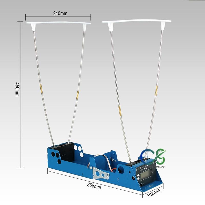 PPT usine vendre directement des mesures tactiques balle vitesse de prise de vue fonction d'enregistrement chronographe chasse testeur de vitesse gs35-0005 - 5