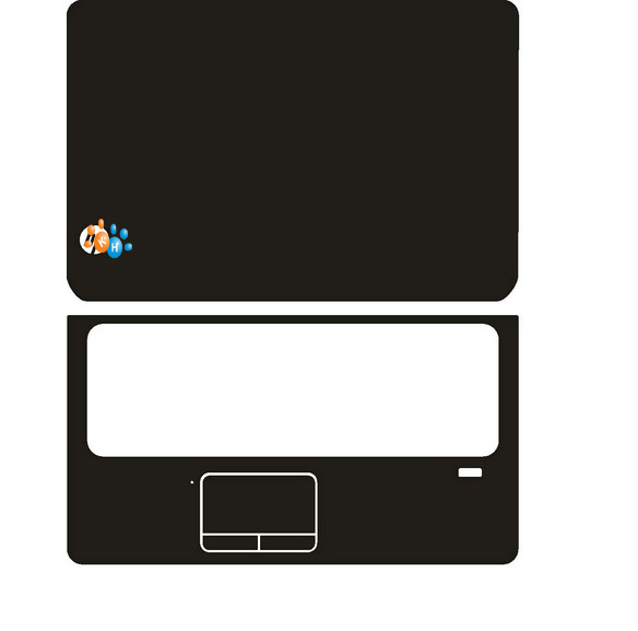 Special Carbon fiber Vinyl Skin Stickers Cover guard For HP DV7 7000 7030us 7115nr 17.3-inch