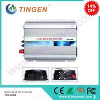 Solar grid on tie inverter 300W convert DC 10.8 28V 12V 24VDC input to AC 90 130V 190 260V output available