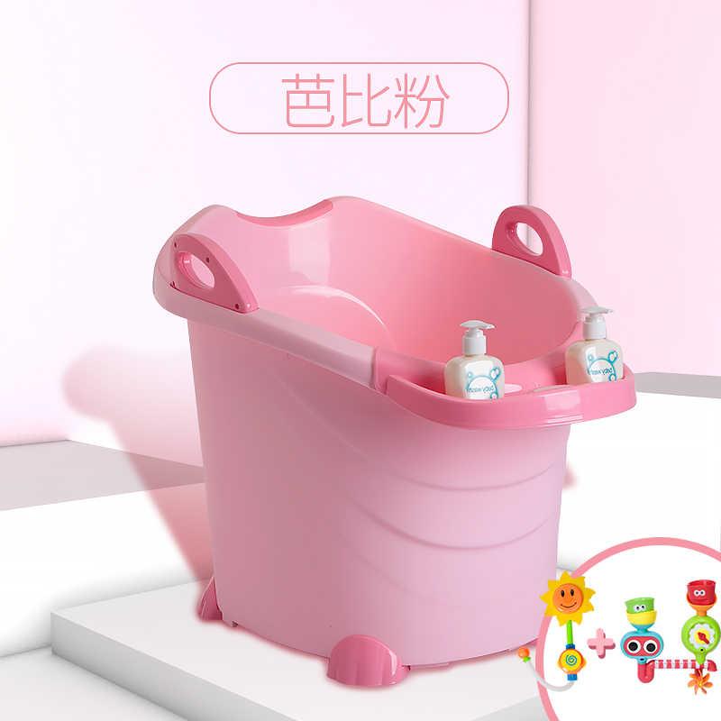 المحمولة الطفل أحواض أفضل المنتجات للطفل طفل طفل للطي حوض حمام والدش سميكة مع لعبة خفيفة