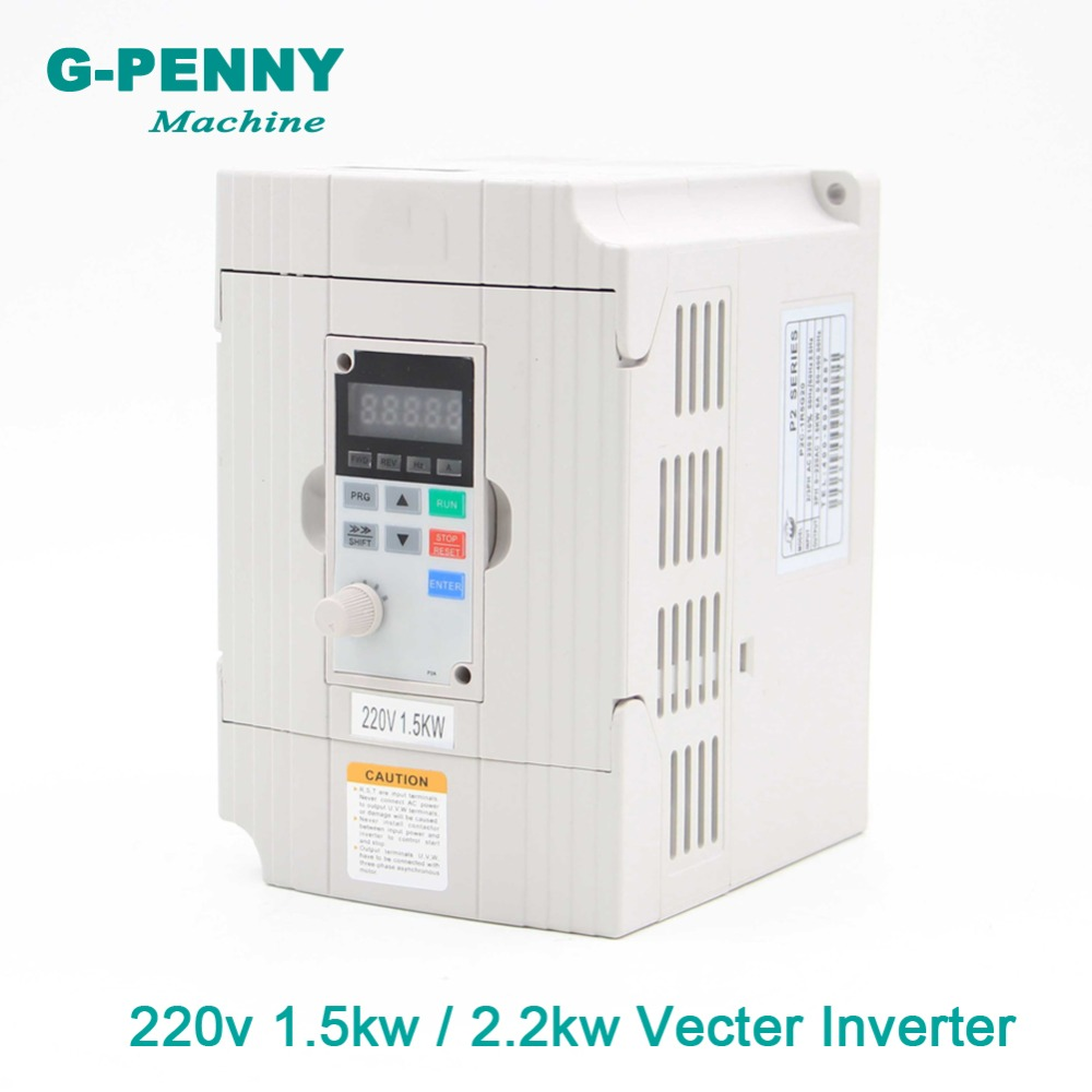 New arrival! 220v 1.5kw / 2.2kw Vector Inveter 400Hz output Frequency Converter Variable Drive VFD <font><b>Motor</b></font> Speed Control image