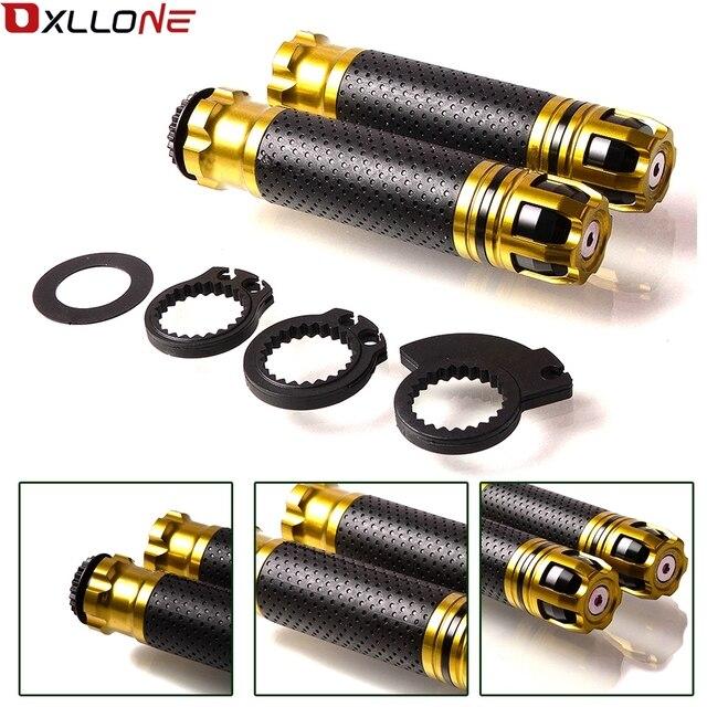 Dành cho Xe Suzuki GSXR GSX R 600 750 1000 K1 K2 K3 K4 K5 K6 K7 K8 K9 7/8 22mm xe máy Không Có Chống Trượt Nhôm CNC Tay Cầm Nắm