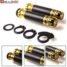 For Suzuki GSXR GSX R 600 750 1000 K1 K2 K3 K4 K5 K6 K7 K8 K9 7/8 22mm Motorcycle None Slip CNC Aluminum Handle Grips