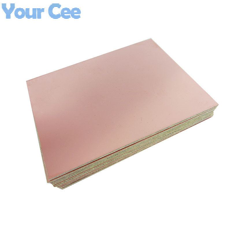 sourcing map 180x120mm Single-Sided Copper Clad Laminate PCB Circuit Board FR4 1.5mm Thickness DIY Prototyping PCB Board 5pcs