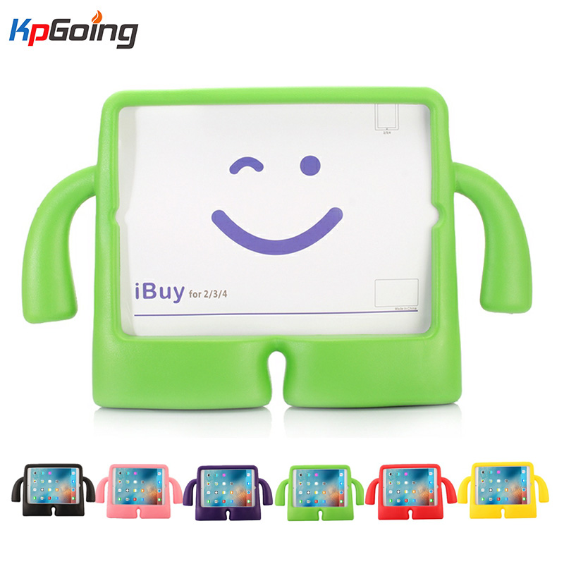 For iPad Mini Case Safe EVA Foam Shockproof Protective Cover for iPad Mini 2 Mini 3 Children Kids Cute TV Stand for iPad Mini 4