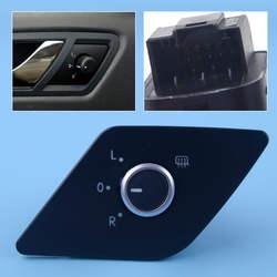 DWCX Электрический боковое зеркало настроить окно переключатель с тепла Функция 5C7959565E подходит для VW Jetta MK6 2011 2012 2013