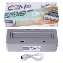 O clássico 2 magic joga o adaptador original dos carrinhos de jogo de snes compatível para o computador da família & para o sistema de entretenimento de nintend
