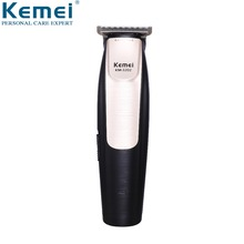 Kemei Cordless Modelling Hair Beard Trimmer Rechargeable Clipper Adjustable Electric 0mm Baldheaded KM-3202