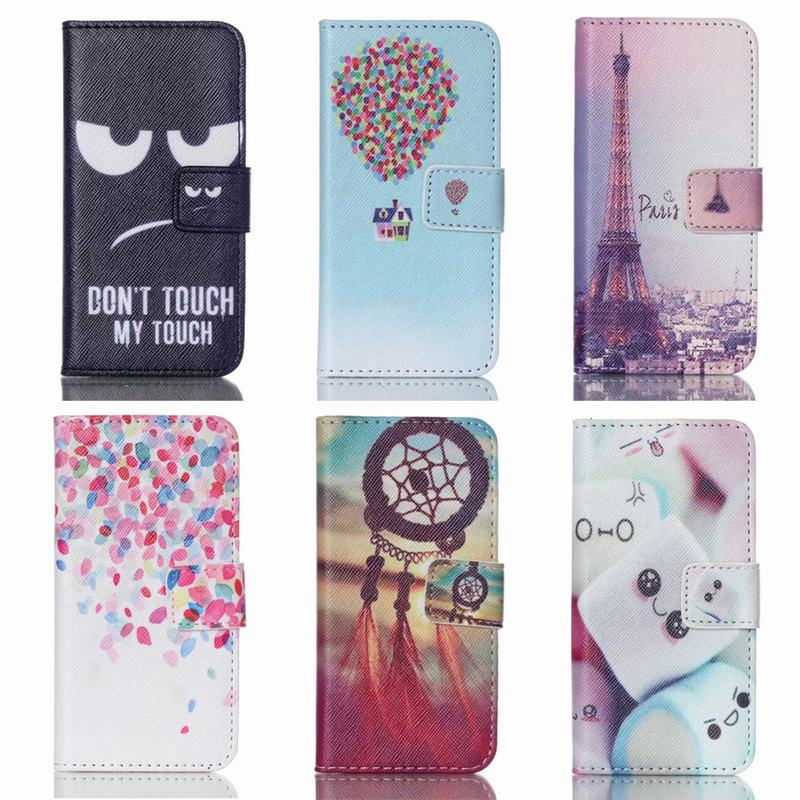 online shop for apple ipod touch 6 case flip leather wallet card