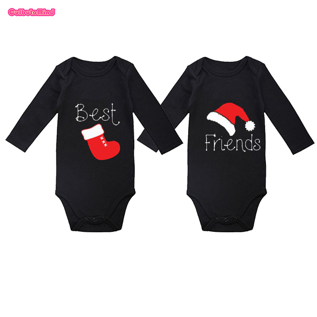 Culbutomind Twin Christmas Outfits, Twin Gifts, BEST FRIENDS Matching Black  Body Suits, Twin - Culbutomind Twin Christmas Outfits, Twin Gifts, BEST FRIENDS