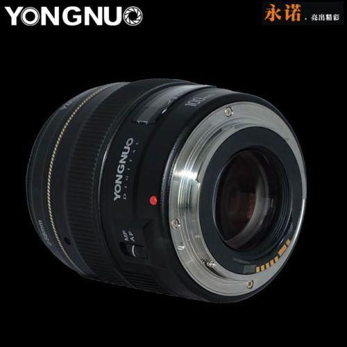 Galleria fotografica Yongnuo yn100mm f2 medio teleobiettivo prime lens grande apertura auto focus lens per <font><b>canon</b></font> eos rebel fotocamera af mf