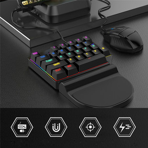 Image 3 - PUBG Mobile Controller Converter For iOS Android PUBG Mobile Keyboard Mouse Converter Joystick Gamepad Bluetooth USB Peripheral