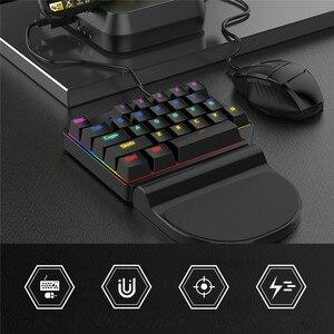 Image 3 - PUBG モバイルコントローラコンバータ ios アンドロイド PUBG モバイルキーボードマウス変換ジョイスティックゲームパッド Bluetooth USB 周辺機器