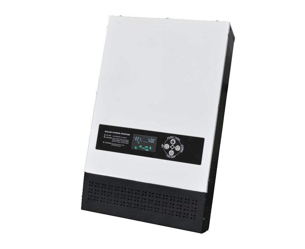 Низкочастотный преобразователь солнечной 1000 Вт 12 В Чистая синусоида Инвертор 40A MPPT решетки инвертор 220 В Hybrid инвертор 20A AC Зарядное устройст