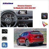 Liislee For Mazda CX 5 CX 5 CX5 2015 2016 2017 Car Reverse Rear View Camera / Connect The Original Factory Screen / RCA Adapter