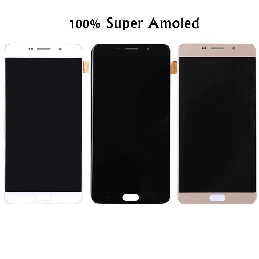 6.0 AMOLED Дисплей для Samsung Galaxy A9 ЖК дисплей Экран сенсорный дигитайзер 2016 A9 Pro A910 A9100 Дисплей Замена
