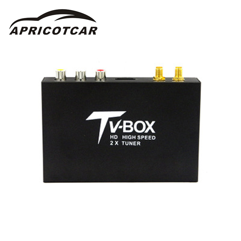 Car DVB high-definition digital antenna mobile car receiver set-top box MPEG4 TV box Singapore Malaysia Russian dual-mode HDMI 10pcs lot oem syta dvb t car set top box high definition digital media player twin tuners special design for car