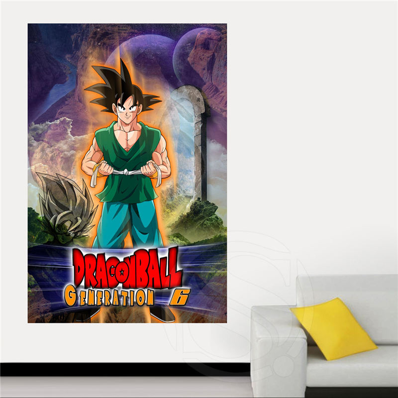 Compra dragon ball z pegatinas de pared online al por for Dragon ball z living room