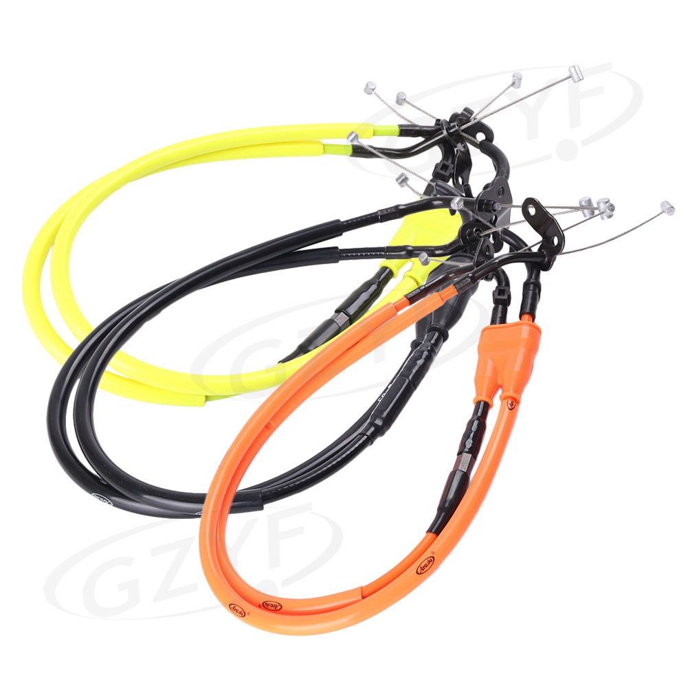 Motorcycle Accelerator Lines Throttle Cables For Yamaha YZF R1 2007 2008 Motorbike Spare Parts Accessories hyundai excavator round throttle sensor accel actuator throttle position sensor hyundai spare parts