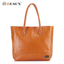 DUSUN Genuine Leather Handbags Large capacity Women Bag Shoulder Bag Luxury Handbags Famous Brands Designer Casual Women Bags