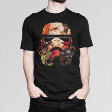 Flower Trooper Star Wars T-Shirt, Men's Women's All Sizes Short Sleeve O-Neck Cotton T shirt Print Tee Shirt For Male
