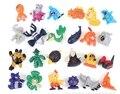 48 pcs pokem anime toy figuras de ação funko pop lps brinquedos 2-3 cm pvc 144 estilos diferentes frete grátis grátis