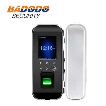 Smart Lock Glas Tür Blocco intelligente pro impronte digitali Touchscreen in Englisch
