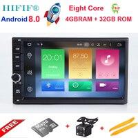 Hifif 7 2Din Android 8.0 Octa core Автомобильный мультимедийный играть коснитесь Планшетные ПК для Nissan GPS навигации Радио стерео видео плеер (нет DVD)
