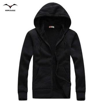 Baru 2019 Pria Hoodie Homme Musim Semi & Musim Gugur Periode Mens Hoodies Pakaian Luar Pria Kasual Merek Ritsleting Jaket & Hoodies xxl