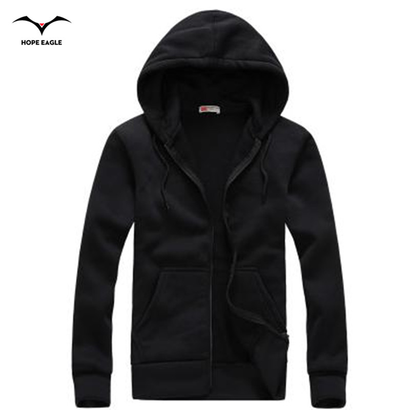 New 2018 Men Hoodie Homme Spring & Autumn Period Mens Hoodies Outerwear male Casual coat Brand zipper Hoodies &Sweatshirts XXL