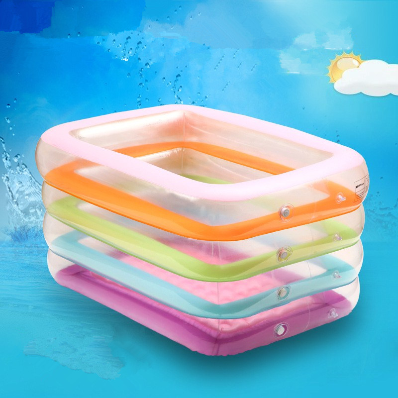 Inflatable Swimming Pool Portable 4 Layer Splashing Balls Ocean Sand Bathtub Kids Pool Baby Tub L1663