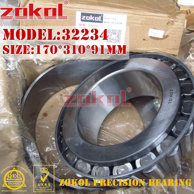 ZOKOL bearing 32234 7534E Tapered Roller Bearing 170*310*91mmZOKOL bearing 32234 7534E Tapered Roller Bearing 170*310*91mm