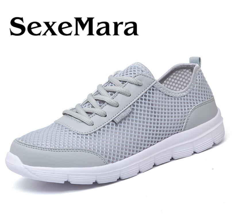 e68e823079a4bf 2017 NEW Fashion Men casual shoes, Men's flats Shoes men breathable  Zapatillas lovers Casual Shoes size EUR:35-48, 3Color