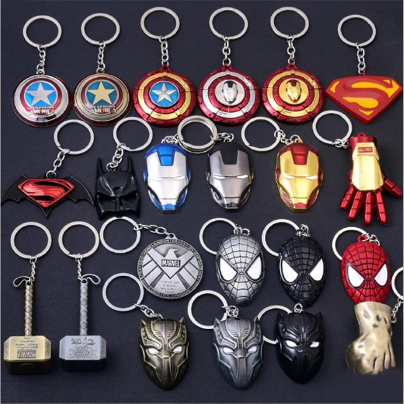 Captain America Shield Marvel Movie Film Rubber Keyring Keychain Official