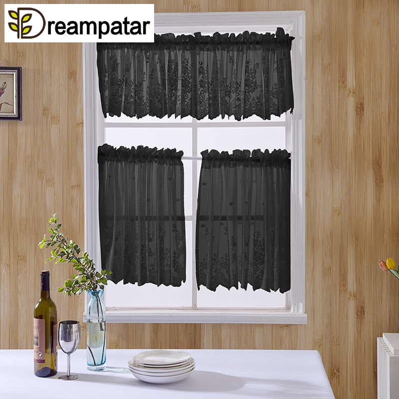 new lace window screens white kitchen door short curtains small coffee curtains rod pocket foral curtains ml9a