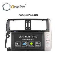 4 г SIM LTE 2 DIN 8 Android 6.0 Octa 8 ядра автомобильный DVD для Toyota Land Cruiser Prado 150 2010 2013 автомобиль GPS стерео BT Wi Fi 32 г Встроенная память