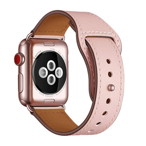 Image 3 - 本革時計バンドストラップ時計シリーズ 4 3 2 1 42 ミリメートル 44 ミリメートル、viotoo女性高級iwatchための革時計バンド