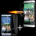 Ultra Thin Tempered Glass Screen Protector For HTC One M9 M8 2014 M7 Desire 820 816 HD Toughened Protective Film +Soft TPU Case