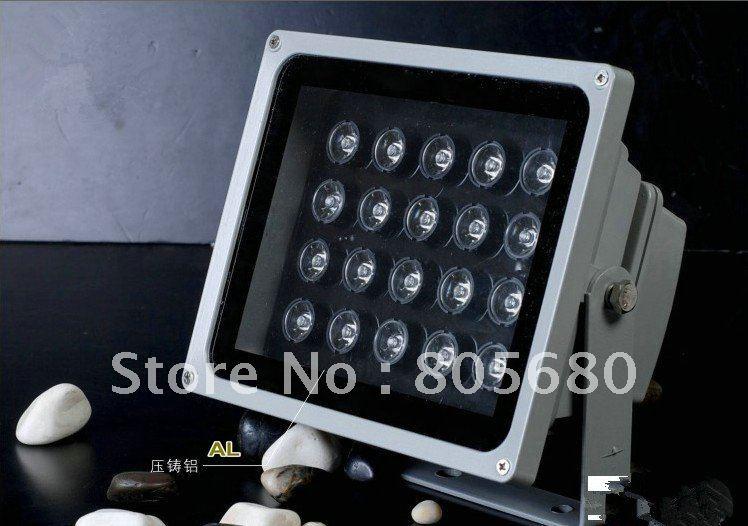 Бесплатная доставка 20 Вт высокой мощности IP65 водонепроницаемый уличный свет, светодиодная подсветка, AC85 ~ 265 В