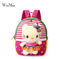 Winmax New korean style cute doll bag for school childrens' backpack with hello kitty rabbit toys mochila infantil okul cantasi