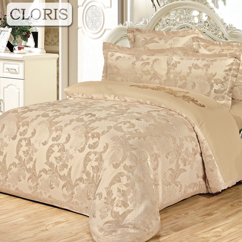 CLORIS coton softcotton fleurs marque de luxe ensembles de literie reine roi taille housse de couette drap de lit ensemble de lit linge de lit kit plaid