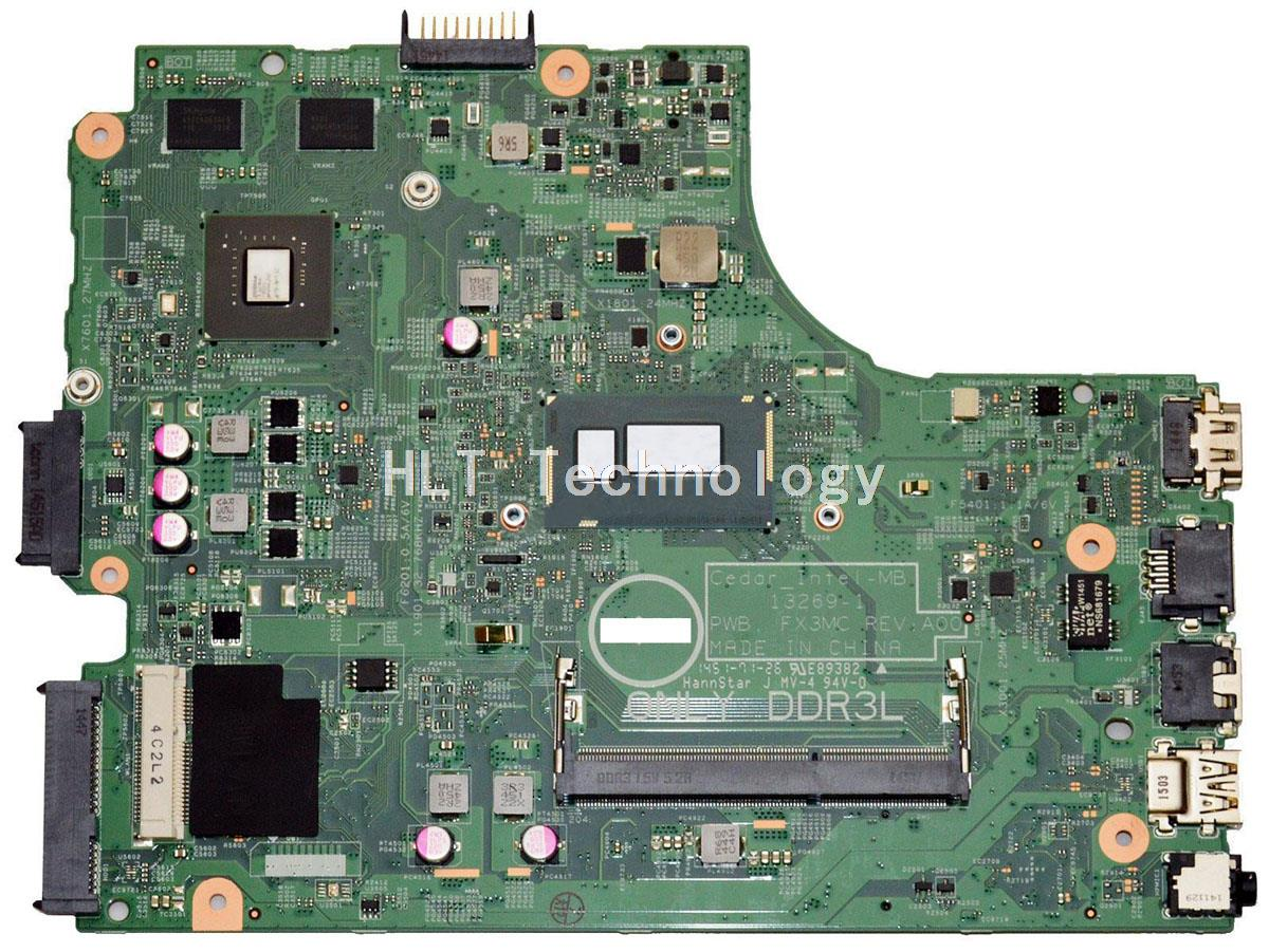 Original laptop Motherboard For Dell DELL 3542 FX3MC I3-4030U CPU non-integrated graphics card 100% fully tested