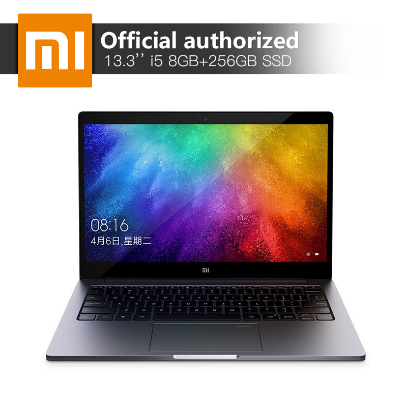 Xiao mi mi Air Notebook 8 gb DDR4 256 gb SSD Intel i5-8250U Quad Core Ordinateurs Portables MX150 2 gb GDDR5 empreintes digitales Reconnaître Ultraslim