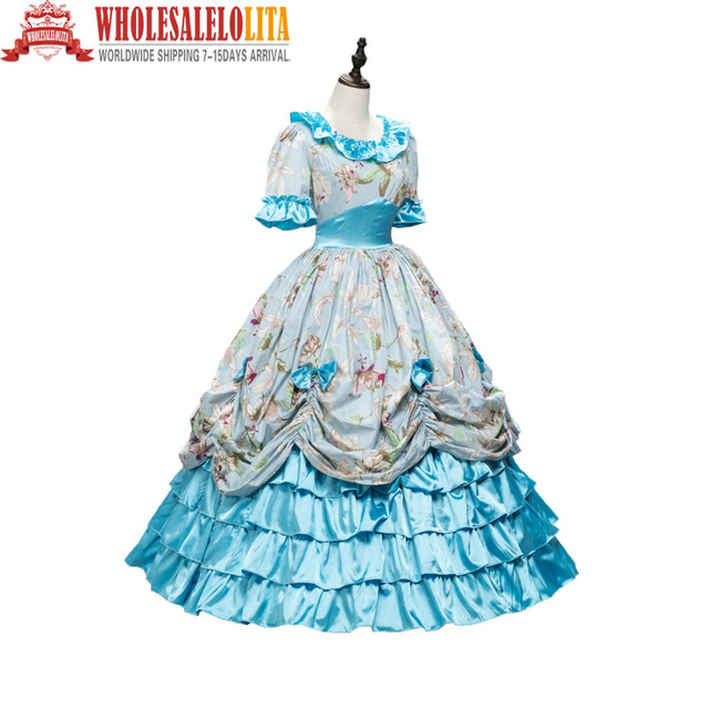 Victorian Southern Belle Civil War Ball Gown Floral Dress -in Holidays  Costumes from Novelty & Special Use on Aliexpress com | Alibaba Group