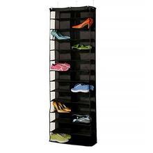Useful House 26 Pocket Shoe Storage Rack Organizer Holder Household Hanging Door Closet Space-saving