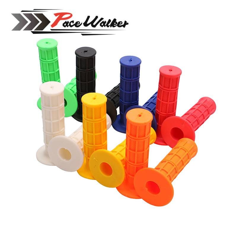 Gel Rubber Handlebar Grips 7 color All handle bars 7/8 of Motorcycle For CRF YZF WRF KLX KTM RMZ Pit Dirt Bike Motocross 7 color all handle bars 7 8 of motorcycle gel rubber handlebar grips for crf yzf wrf kxf klx ktm rmz pit dirt bike motocross