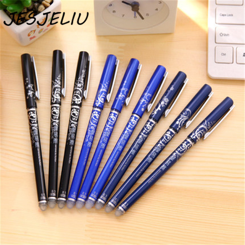 1 Pcs Magic Erasable Pen Refill 0.5mm Blue Black Ink Gel Pen Refill For Writing Stationery Office School Supplies