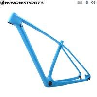 Full Carbon MTB Frame Mountain Bike Carbon Frames MTB Carbon bike Frame Thru Axle 142x12mm&135x9mm 29er MTB Frameset